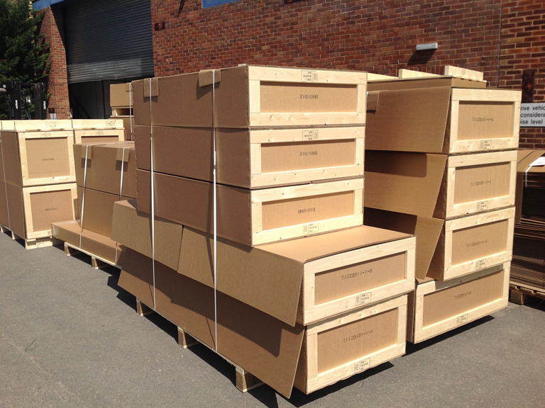 Recent corrugated products